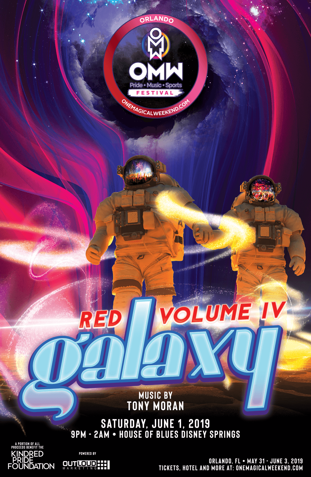Red Vol IV Galaxy @ House of Blues